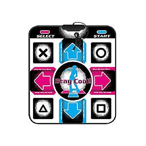 JIUCHEN Non-Slip Dance Pad Dancing Mat, Light Up Dancing Blanket Dance Mat, PC USB Dancing Mat, TV Musical Play Mat Compatible for PC AV Video Game