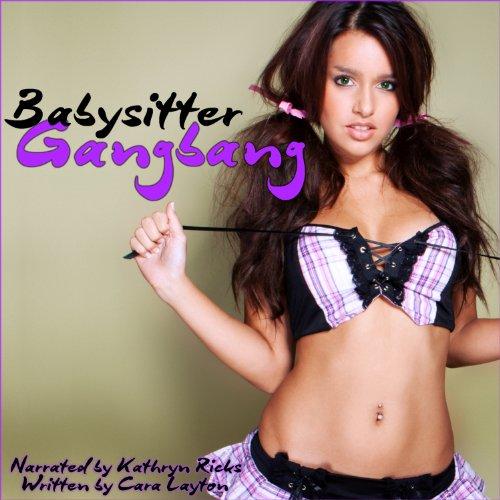 Sitter Gangbang audiobook cover art