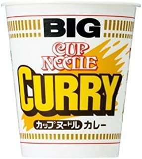 Nissin Cup Noodle Curry Big 119g × 12 pieces