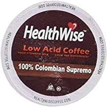 HealthWise Coffee for Keurig K-Cup (Colombian Supremo, 12 Count)