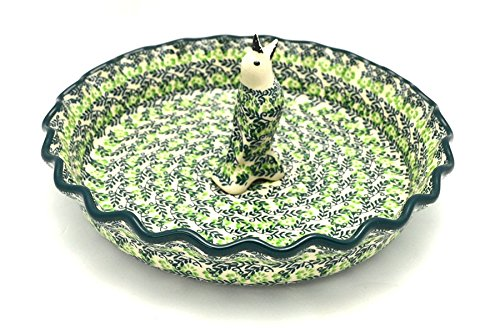 Polish Pottery Pie Set - Irish Meadow