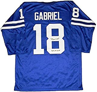 Roman Gabriel Autographed Signed Los Angeles Rams Autographed Signed #18 Jersey - JSA Authentic