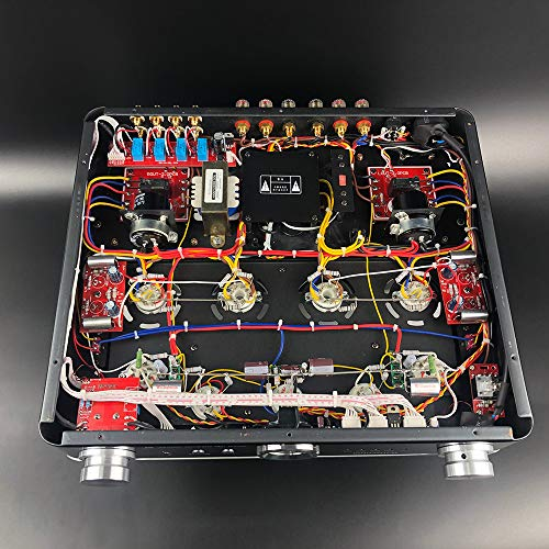 Willsenton R8 KT88/EL34 x4 Tube Integrated AMP Power Amplifier Headphone (Black)