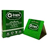 Q-Traps Pantry Moth Traps - Safe, Nontoxic, Insecticide & Odor Free, Pheromone Attractant Traps for...