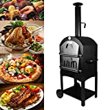 Tengchang Outdoor Pizza Oven Wood Fire DIY Portable Family Camping Cooker