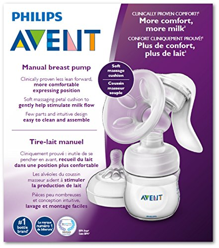 Philips Avent Breast SCF330/30 Pump Manual, Clear
