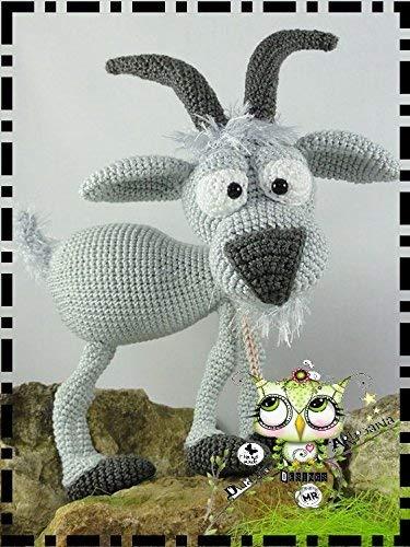 CABRA AMIGURUMI PERSONALIZABLE ( Bebé, crochet, ganchillo, muñeco, peluche, niño, niña, lana, mujer, hombre ) MODA, ORIGINAL, FANTASÍA