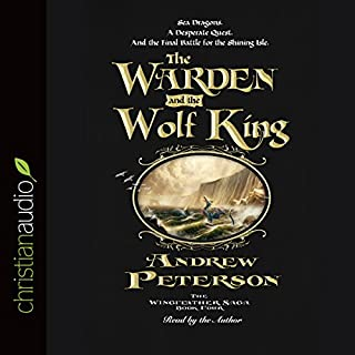 The Warden and the Wolf King audiobook cover art