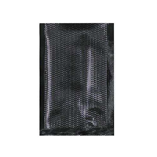Vakuumbeutel 10 x 15 cm - 50 Stück - beidseitig schwarz - passend für jegliche Vakuumiergeräte anderer Fabrikate - Aromen gehen nicht verloren
