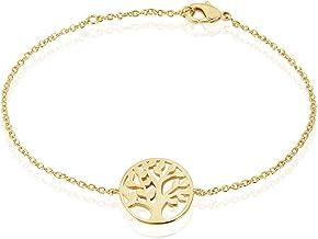 Rendez-vous RueParadis Paris - Bracelet Femme PLAQUÉ Or – Bracelet à Motif Plaqué Or 18 Carats 3 Microns – Bijoux Femme et...