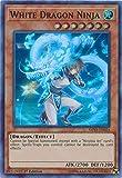 Yu-Gi-Oh! - White Dragon Ninja - SHVA-EN024 - Super Rare - 1st Edition - Shadows in Valhalla