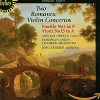 Violin Cto 1 in F Major / Violin Cto 13 in a Major