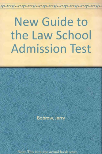 New Guide To The Law School Admission Test