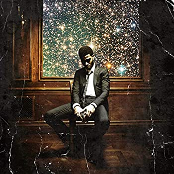 Youngpin Kid Cudi Man On The Moon II The Legend of Mr Rager Art Poster Print,Unframed 20x20 Inches