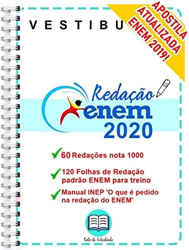 Enem Redação Nota 1000-60 redações exemplo 120 folhas padrão ENEM para treinar