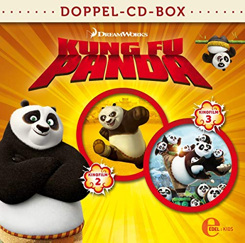 Kung Fu Panda-Doppel-Box-Kino-Hörspiel 2+3