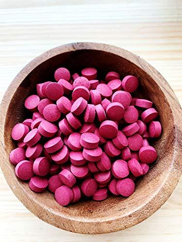 NORFIES BRAND 北海道赤ビーツタブレット 30g (お試しサイズ缶入り) 北海道産無農薬栽培赤ビーツ100%使用(保存料・着色料無添加)