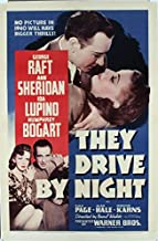 They Drive By Night (1940) Original Movie Poster