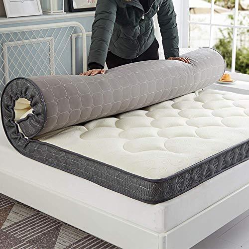 FF Premium Memory Foam Queen Materasso Topper, Pieghevole Tappetino per Dormire Tatami,...