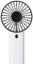 Chinaware Creative Fan Desktop Stand Mini Fan Portable USB Charging Wind Adjustment Handheld Fan Personal Fans (White)