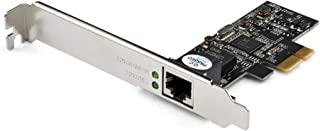 StarTech.com 1 Port PCIe Network Card - 2.5Gbps 2.5GBASE-T PCIe Network Card x1 PCIe - PCI Express LAN Card - RTL8125 (ST2...