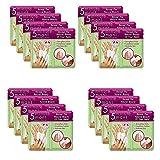 4 paquetes/caja de herramientas de cuidado de uñas de manicura en el hogar de 5 minutos para fortalecer y nutrir las uñas y las cutículas para prevenir futuras peladuras, astillas o grietas (4 cajas)