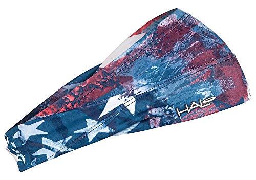 Halo Headband Bandit – Faixa de transpiração larga para mulheres e homens, Star Gazer, Star Gazer, tamanho único