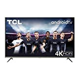 TV TCL 43P616 43 pollici, 4K HDR, Ultra HD, Smart TV con sistema Android 9.0, Design senza bordi (Micro dimming PRO, Smart HDR, HDR 10, Dolby Audio, Compatibile con Google Assistant & Alexa)