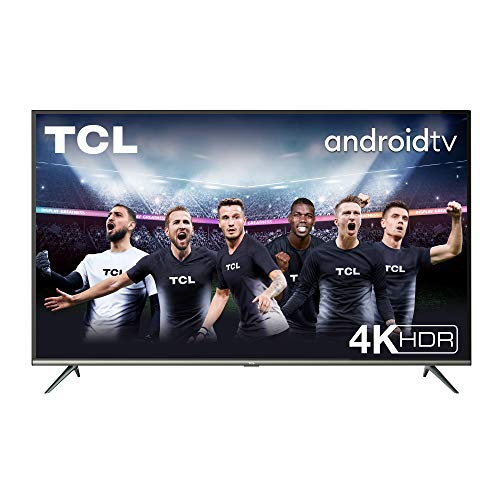 TCL 50EP640 Televisor 126 cm (50 Pulgadas), Smart TV con Resolución 4K UHD, HDR10, Micro Dimming Pro, Android TV, Alexa,...
