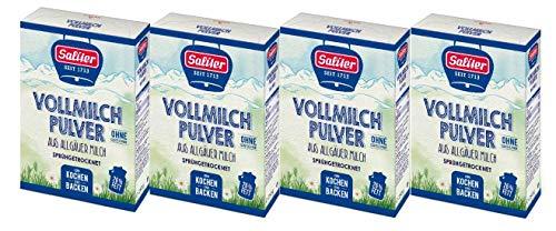 Saliter Alpen-Vollmilchpulver, 4er Pack (4 x 250g)