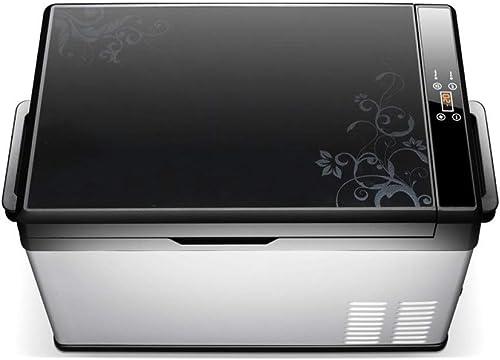 ZBYY Congélateur De Réfrigérateur De Compresseur D'affichage Numérique Portable De Réfrigérateur De Voiture 12 V   24 V   220V,40L
