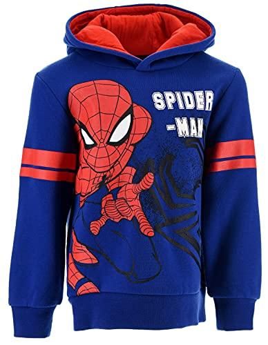 Spiderman Niños Sudadera (Azul,3 años)