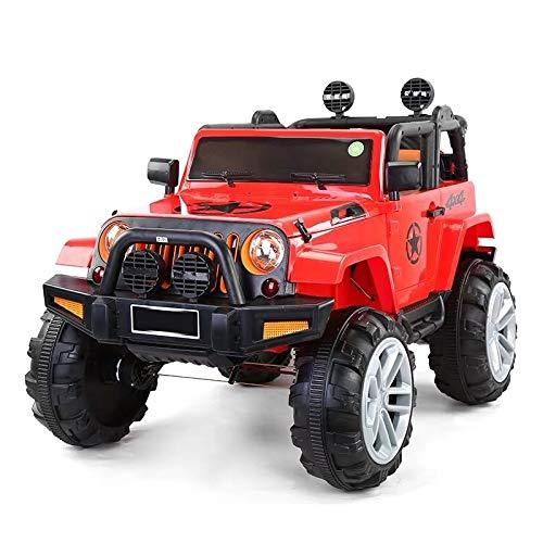 ATAA Bigfoot 4X4 - Rojo - Coche eléctrico para niños a batería con 4 potentes Motores