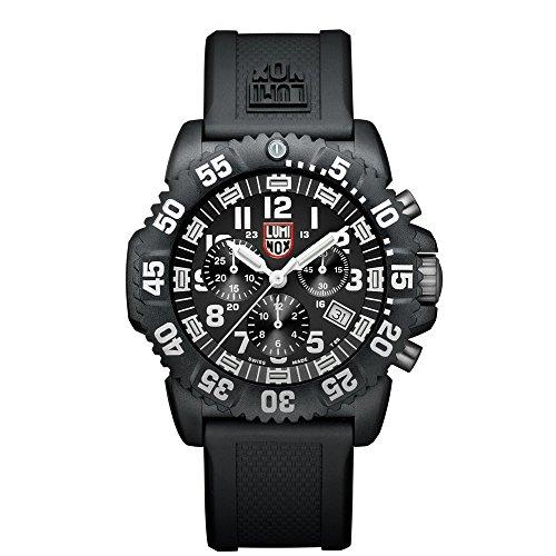 Luminox Navy Seal Colormark 3081 - Reloj de caballero de cuarzo, correa...