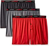 Hanes Men's X-Temp 4-Way Stretch Mesh Knit Boxer 3-Pack, Assorted, 2X Large