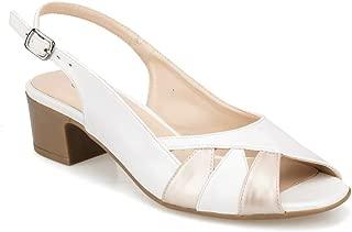 91.150801.Z Beyaz Kadın Sandalet