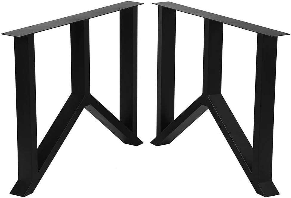 "Metal Trust Table Legs Cast Iron Height 35à 28"" Memphis Mall Dining"