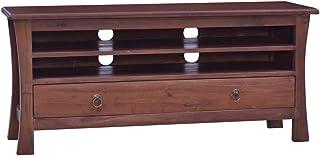 vidaXL Solid Mahogany Wood TV Cabinet Wooden Home Bedroom Entertainment Center Unit Rack Stand Hifi Plasma Cabinet Sideboa...