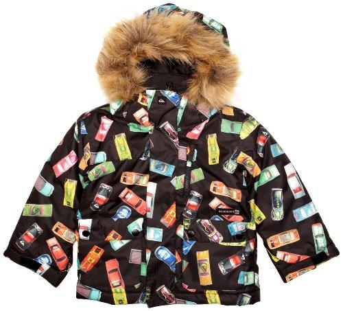 Quiksilver Kinder Snowboard Jacke Shift Printed, cars blk, T45, KPKSJ024-035-T45