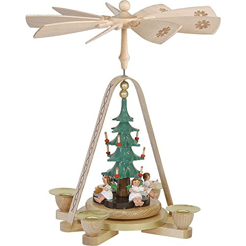 Richard Glaesser Angels Christmas Tree Pyramid Made in Germany