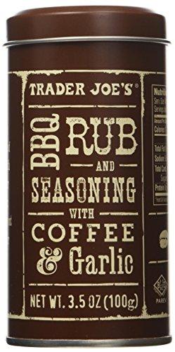 Trader Joe's BBQ Rub and Seasoning with Coffee & Garlic (Pack of 2)