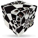 V-Cube Cubo 3-Ajedrez Illusion (Multicolor)