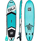 """GILI All Around Inflatable Stand Up Paddle Board Package 
