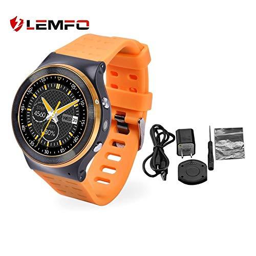 S99 Smart Watch Phone GPS WiFi 4.0 Armband Kamera Video Recording Touch-Rundsieb Herzfrequenzmesser