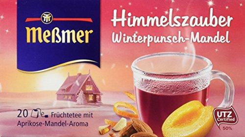 Meßmer Himmelszauber, Winterpunsch-Mandel, 20 Beutel, 10er Pack (10 x 55 g)