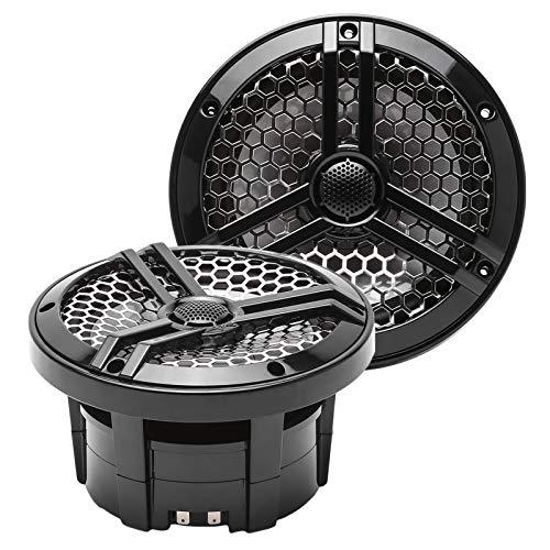 "Skar Audio SK65MB 6.5"" 2-Way Marine Full Range 320 Watt Coaxial Speakers, Pair (Black)"