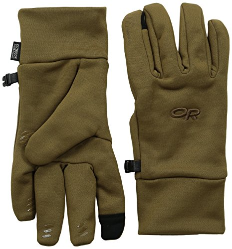 Outdoor Research Men's PL400 Sensor Gloves, Coyote, Large