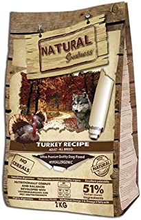 Natural Greatness Turkey Recipe Alimento Seco Completo para Perros - 12000 gr