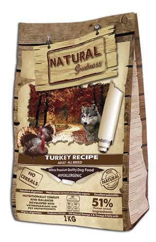 Natural Greatness Turkey Recipe Alimento Seco Completo para Perros - 12000 gr
