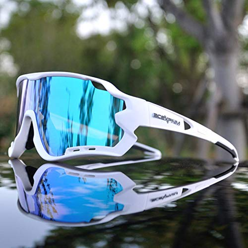 RSTT Gafas de sol polarizadas para hombre, gafas de sol deportivas UV400